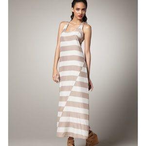 Splendid Striped Racerback Maxi Dress